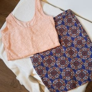 Cute pink lace top from Nordstrom's